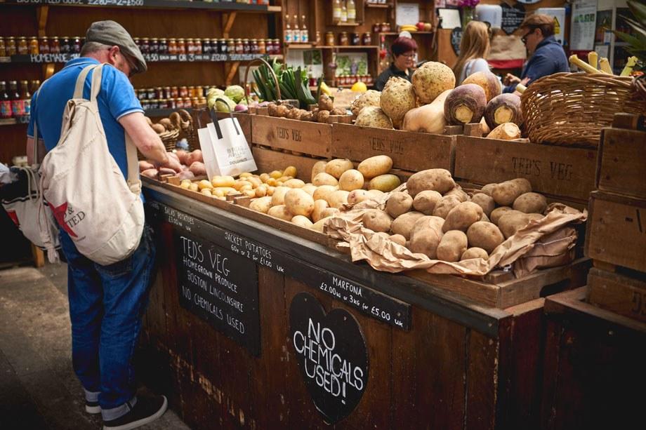 Farm shop london